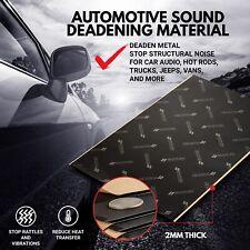 Second Skin Audio Damplifier Pro 36.5 sqft 80 Mil Automotive Sound Deadening Mat