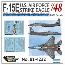 DXM decal 1/48 McDonnell Douglas F-15E Strike Eagle 4FW's 75th Anniversary
