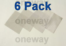 "(6 Pack) 6"" x 6"" - 100 Micron  Fine Stainless Steel Mesh Screen Filters 710 316"