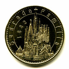ESPAGNE Barcelone, Sagrada Familia, Basilique 2, 1882, 2018, Monnaie de Paris