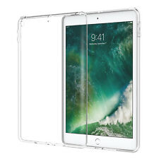 """For iPad 9.7"""" 2017 5th Gen Clear ultra Slim Silicone Soft TPU Back Case Cover"""