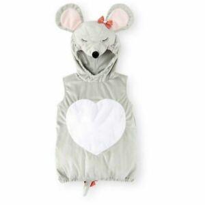 Süße Maus Koala Baby Fasching Halloween Karneval Kostüm Overall + Hoodie 68 / 74