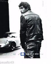 PUBLICITE ADVERTISING 085  2005  les vestes cuir homme CHEVIGNON pret à porter