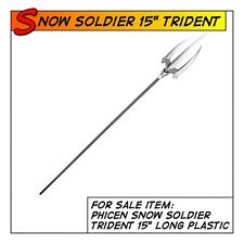 """Phicen Snow Soldier Hot Trident 15""""long Weapon for 1/6 12in scale Toys"""