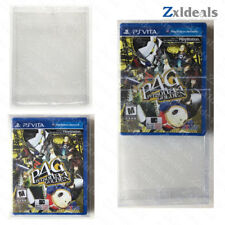 Box Protector Sleeve PS Vita Games Custom Made Clear Plastic Protection Cases