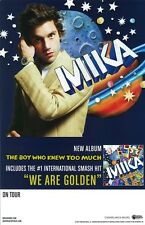 MIKA poster : THE BOY WHO KNEW TOO MUCH : promo poster (A) : 11 x 17 inches