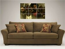 "THE ROOTS  MOSAIC 35""X25"" INCH WALL POSTER BLACK THOUGHT"