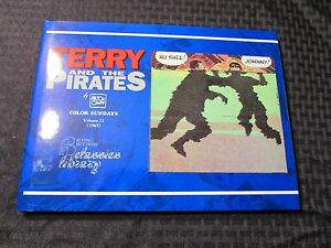 1993 TERRY And The PIRATES Color Sundays v.11 HC/DJ NM/VF Milton Caniff 112pgs