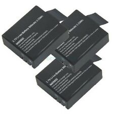 Paranormal Ghost Hunting Equipment 3x Spare Battery for GhostPro Action Cam