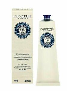 L'occitane Shea intensive Hands Balm 150ml AU stock clearance