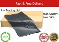 Extra Strong, Bin Liners, Refuse bags, Rubbish bags, Black Heavy-duty All Sizes