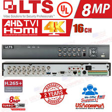 LTS 16CH DVR LTD8516K-ST (NO HDD )  Platinum Pro 8MP+2 IP 8MP HD-TVI AHD CVI