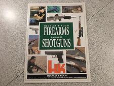 Heckler & Koch HK Firearms Fabarm Shotguns 2001 Catalog