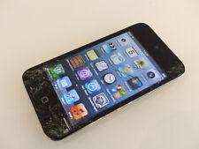 Apple iPod Touch 4. Generation 32GB Schwarz A1367 gebraucht Sprung #DJ6HW