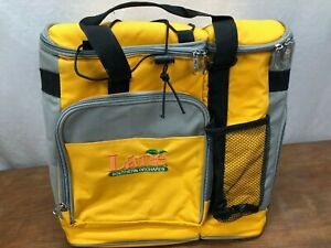 COOLER - 2 COMPARTMENT - UNBRANDED WITH THE LANE FAMILY ORCHARDS ADVERSITIZING -