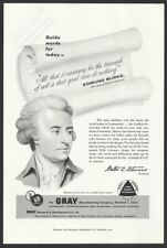 GRAY Audograph and Telephone Dictation Systems 1956 Vintage Print Ad