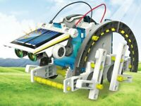 Abco Tech 13-in-1 DIY Solar Robot Kit Science Toys Educational Interactive STEM