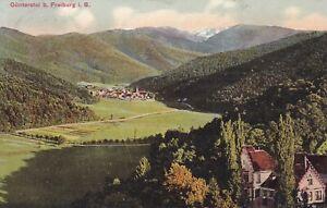 AK Günterstal bei Freiburg i. B. Franz Thaer München gel. 1916 stampsdealer
