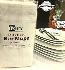Kitchen Bar Mops Super Absorbent (12, 24, 36, 48 Pack Towels)