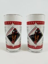 2003 Kentucky Derby Horse Races ~ Mint Julep Glasses ~ 129th Running ~ Set of 2