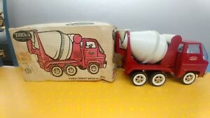 Vintage 1960's Tonka Cement Mixer No. 2620 With Original Box Near Mint Shelf D3