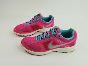 Nike Air Relentless 3 Womens 11 Trainers Running Shoes 616596-600 Pink EUC