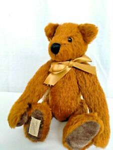 """DEAN'S RAG BOOK 'HOBSON' BEAR COLLECTORS BEAR NO 3289 FULLY JOINTED 11"""""""
