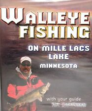 WALLEYE FISHING MILLE LACS LAKE MINNESOTA DVD,NEW! FREE SHIP! TIM CHAPMAN ,HOW