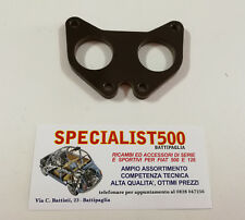 BACHELITE PER CARBURATORE LANCIA FULVIA 32/35mm CON GIUNTO ELASTICO FULVIA