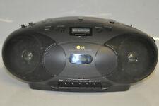 LG CD-330A tragbarer CD Radio Cassette Recorder Tape Deck Kassetten HiFi 330 A