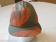 Brixton hat cap Henshaw green rust one size fits most surf skate RARE NEW Men's