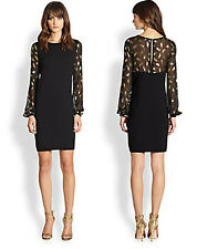 DVF Diane Von Furstenberg Alagna Long Sleeve Knit Dress Size M NWT