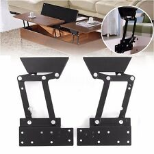 2x Lift Up Top Coffee Table Mechanism Hardware Fitting Furniture Hydraulic Hinge