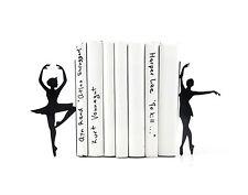Atelier Article Gift Steel bookends Ballerinas Ballet dansers Passé simple Black