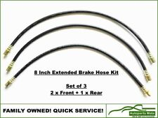 Extended Brake Line Hose Kit Hilux YN63 RN106 RN110 85-97 with IFS