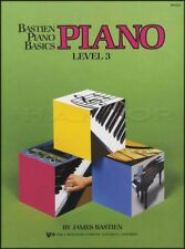 Bastien Piano Basics Piano Level 3 Sheet Music Book Method Learn How To Play