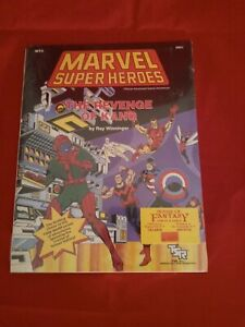 The Revenge of Kang Marvel Super Heroes TSR MT3 6891 w/ Map NEW SEALED
