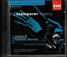 EMI KLEMPERER, BAVARIAN RADIO SO - MAHLER SYMPHONY 2 LIVE