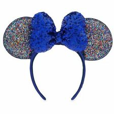 Disney Parks Minnie Mouse 2020 Sparkly Ears Headband New