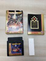 Nintendo NES Vindicators 1988 Video Game Tengen In Box No Manual Tested