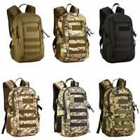 Travel Outdoor Military Tactical Backpack Molle Bag Rucksack Hiking Camping HOT