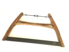 Vintage Rare Woodcutter Buck Saw British Pattern Display Hand Tools