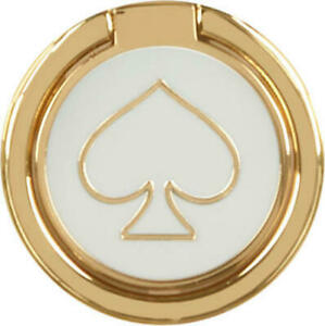 kate spade new york Stability Ring - Gold/Cream Enamel