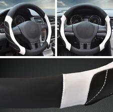 "15"" Car Non-Slip Steering Wheel Cover Breathable Microfiber Leather Four Seasons"
