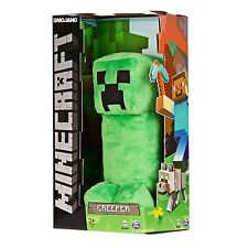 "NIB Minecraft Creeper Green Plush JINX Exclusive 12"" Plush Toy for Ages 3+ *NEW*"