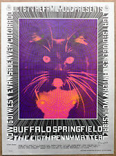 Psychedelic Cat Buffalo Springfield Denver Vintage Kitty Bob Fried Promo Poster