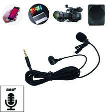 AUX Mini Portable Clip Lapel microphone For Android phone and Recording Video