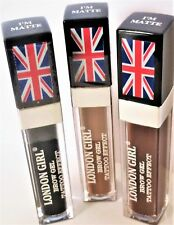 NEW London girl Eyebrow Tattoo Effect Brow Gel Black Light Brown UK Seller
