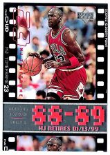 Michael Jordan 1999 UD TimeFrame 10000 Points Basketball Oversize Card no. 5