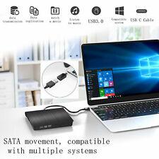Portable Usb3.0 Type-c Dvd Rw Cd Writer Drive Burner Reader Player For Laptop Pc